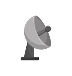 Isolated antenna design vector image vector image
