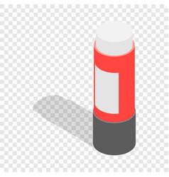 stationery glue isometric icon vector image