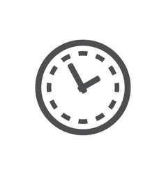 Clock icon symbol vector