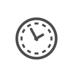 clock icon Symbol vector image vector image
