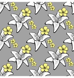 FlowersBackground3 vector image