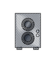 speaker sound audio image vector image