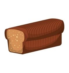 Toast bread icon bakery design graphic vector