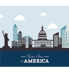 USA design vector image vector image