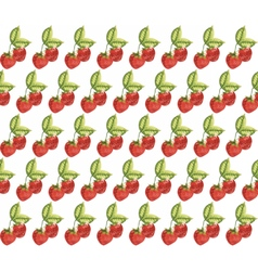 Strawberry Vintage pattern vector image