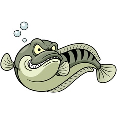 Great snakehead vector image