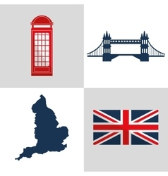 London landmarks design vector