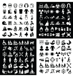 Graphic icon collection vector