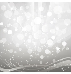 Abstract background with shiny bokeh vector image vector image