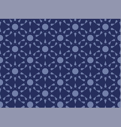 Abstract seamless islamic pattern vector