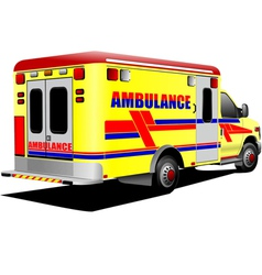 al 0931 ambulance vector image