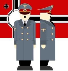 Hitler vector image vector image