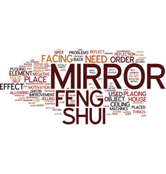 Learn how to solve problems with a feng shui vector