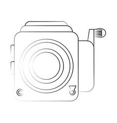 vintage camera icon image vector image vector image