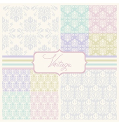 Wedding patterns vector