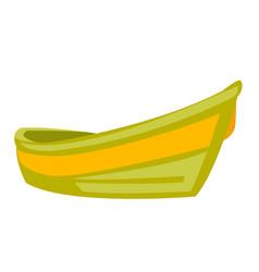 boat cartoon vector image