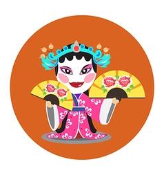 Chinese opera vector