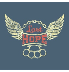 Last hope vector