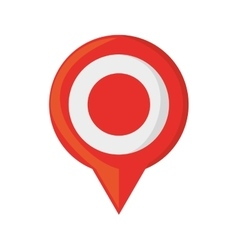 Pin map pointer gps location vector