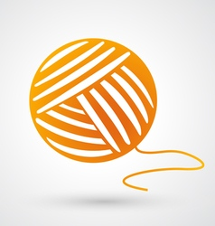 Yarn icon vector