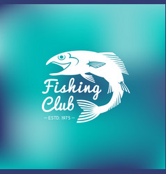 Fish logo vector