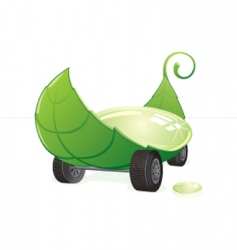leaf transport vector image