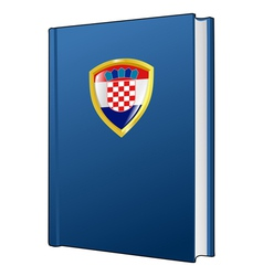 Constitution of croatia vector
