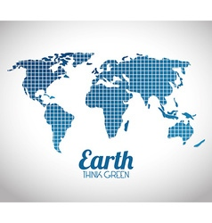 World earth design vector