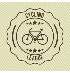 Bike label vector