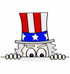 American spy vector image