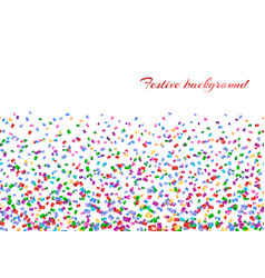 confetti isolated decoration vector image