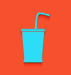 Drink sign whitish icon on vector