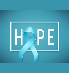 World prostate cancer day symbol vector