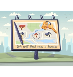 We will find you a home vector image