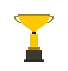 Goblet flat icon vector