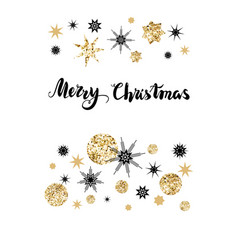 greetings christmas card vector image vector image