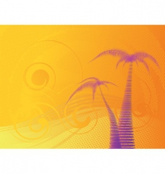 tropical stylish background vector image