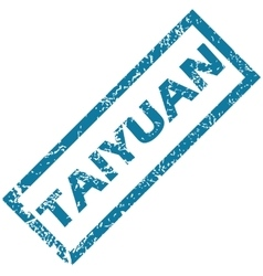 Taiyuan rubber stamp vector