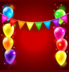 Birthday or party background vector