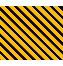 Danger background orange and black stripes vector