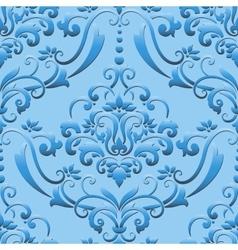 damask seamless pattern element Elegant luxury vector image
