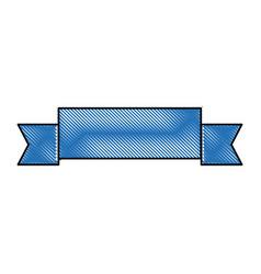 Ribbon decoration ornament sport imag vector