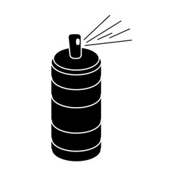 Spray can container pictogram vector