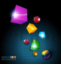 3d box vector image
