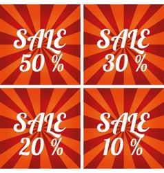 Sale design template vector