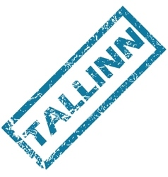 Tallinn rubber stamp vector