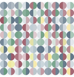 Geometric abstract background with circles vector