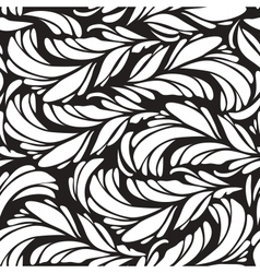 Plume pattern vector