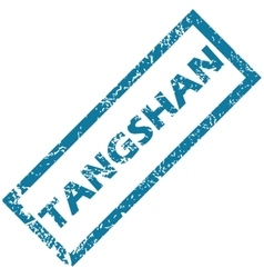 Tangshan rubber stamp vector