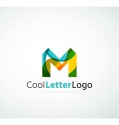 Letter company logo vector